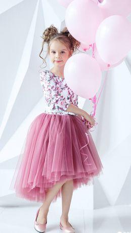 Zironka 122 платье шикарное нарядное зиронька зіронька очень пышное