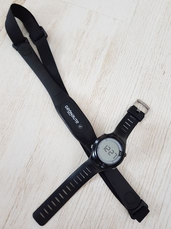 Zegarek/pulsometr Geonaute + pas piersiowy Decathlon