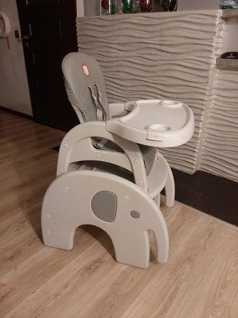 Stolik i krzesłko do karmienia dzieci
