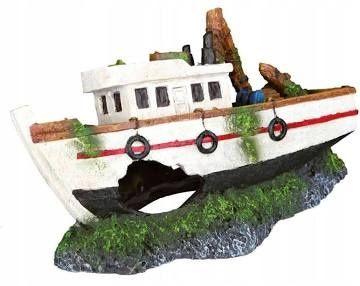 Trixi dekoracja akwarium statek