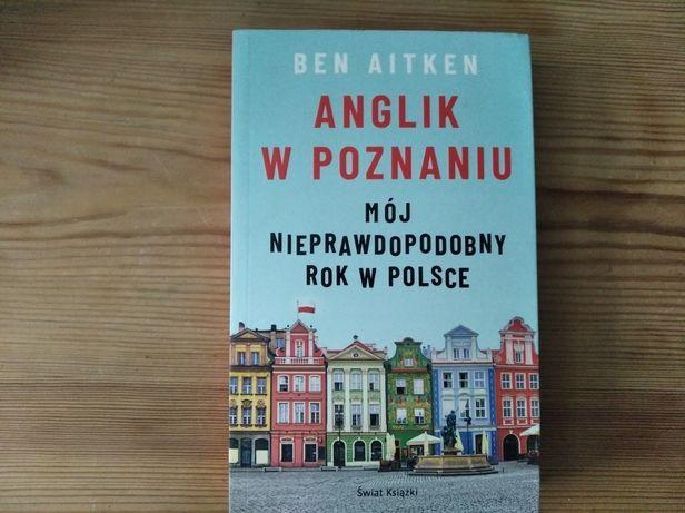 Ben Aitken Anglik w Poznaniu