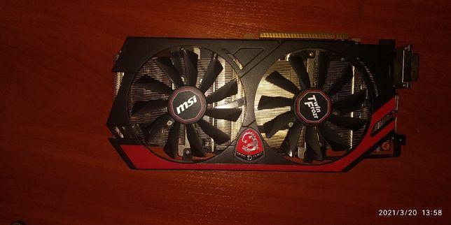 MSI Nvidia Geforce GTX 760 (2 gb )