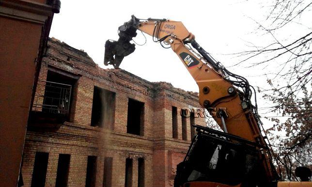 Строительние роботи, Демонтаж