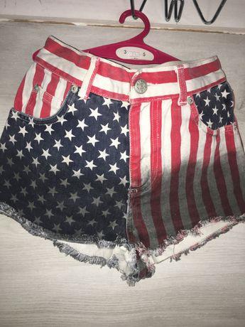 Шорты джинсовые USA