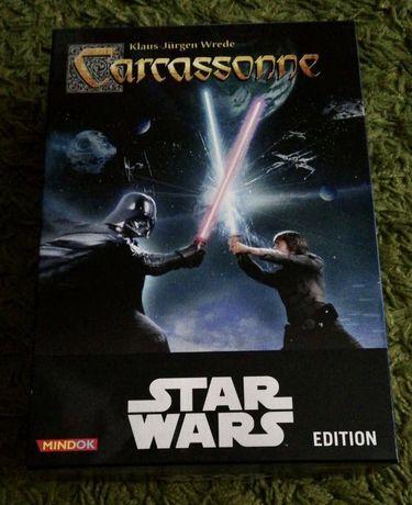 Gra planszowa - Carcassonne Star Wars - jak NOWA