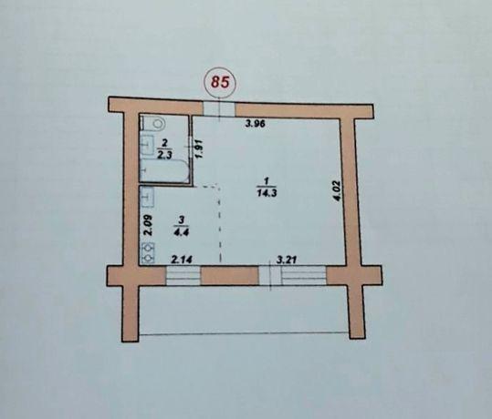 Однокомнатная квартира МС  18300 торг только до 10.11