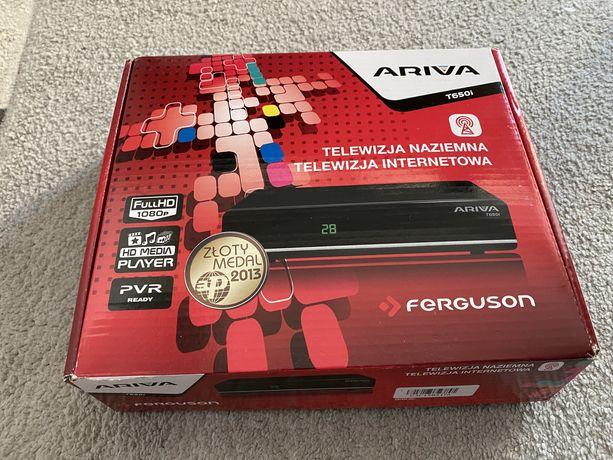 Tuner TV naziemnej Ferguson ARIVA T650i FullHD Media Player