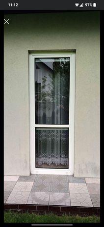 Okno balkonowe PCV lewe
