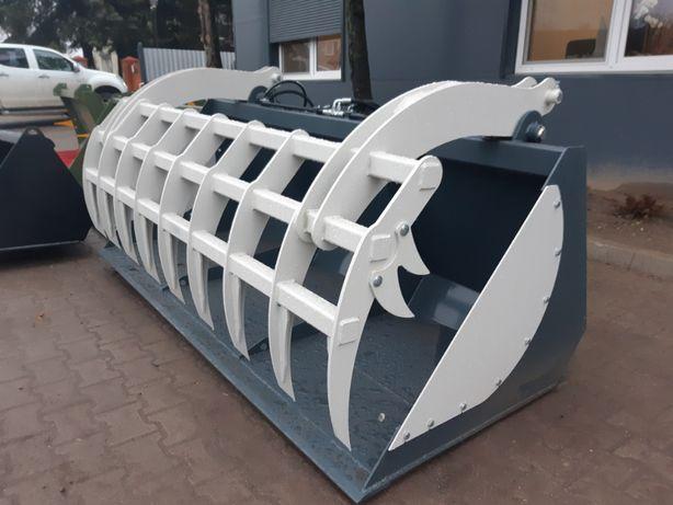 Łyżko-krokodyl, zęby palone, 200 cm do JCB, Class, Manitou lub Matbro