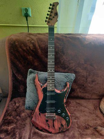 Gitara AXL, piecyk i dodatki