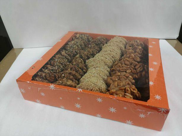 Ciastka z bakaliami arabskie sezam orzechy słonecznik dynia 1 kg