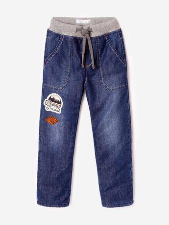 Джинсы утепленные gloria jeans для мальчика