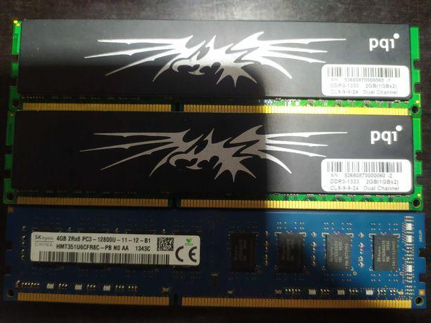 Оперативная память DDR3  4GB , а также DDR2, DDR
