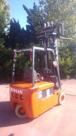 Nissan electrico 1.8ton 6500mm como novo empilhador