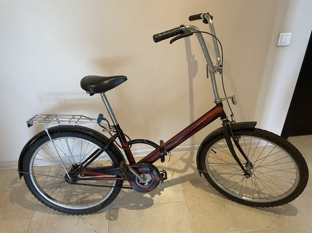 Складной велосипед после капитального ремонта