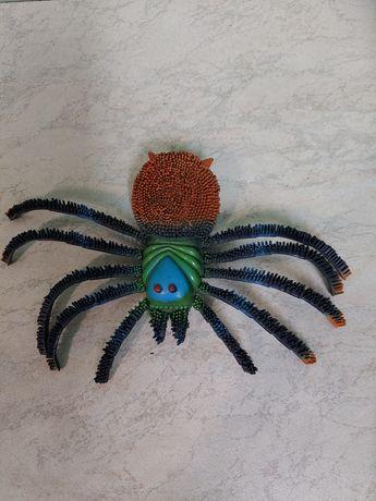 Игрушка паук резиновый