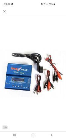NOWA Ładowarka Imax B6AC 80W z zasilaczem + adaptery
