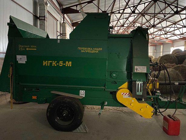 продам ИГК-5 (ИГК-5М) Измельчитель рулонов грубых кормов