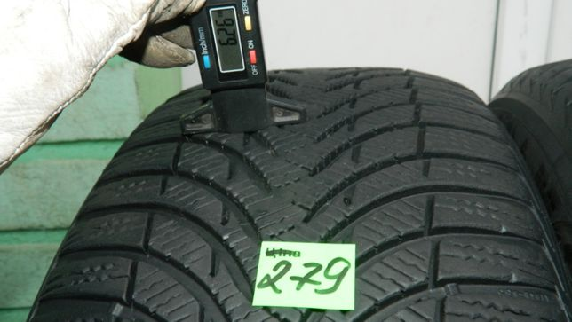 Шини колеса резина R17 225/50 Mishelin Alpin4 2шт Зима