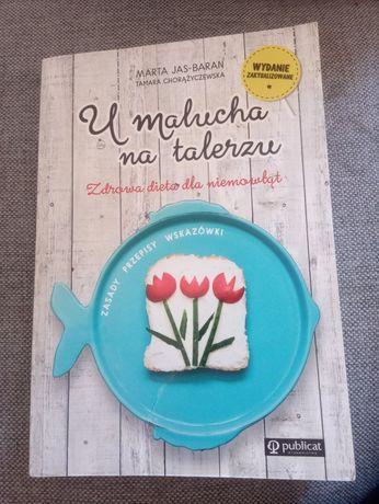 U malucha na talerzu . książka żywienie niemowlęcia polecam
