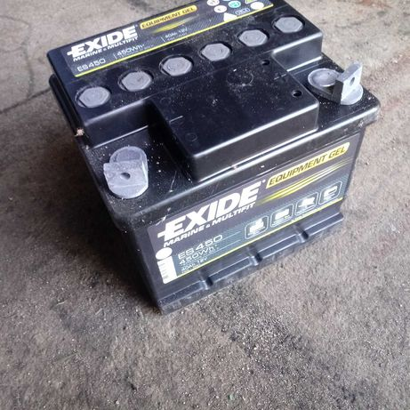 Akumulator 40Ah 450Wh Exide Equipment GEL ES450