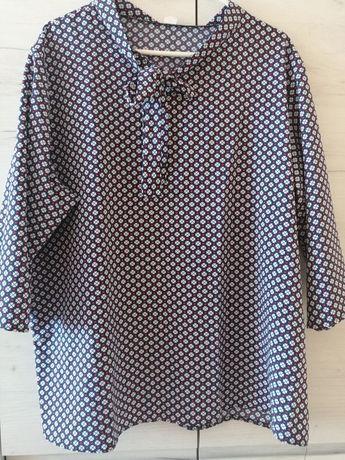 Elegancka bluzka damska w rozmiarze 50