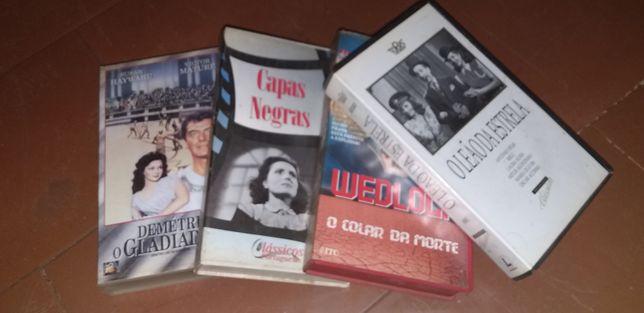 Cassetes vhs de varios filmes