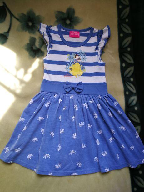 Летнее платье принцессы Disney (Дисней), р. 3-4 года (98-104 см)