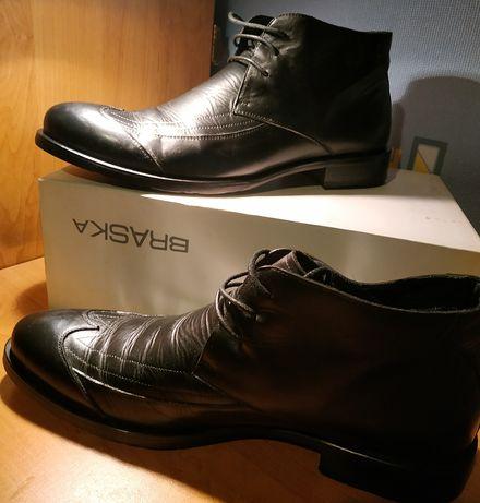 Ботинки Braska. Кожаные.