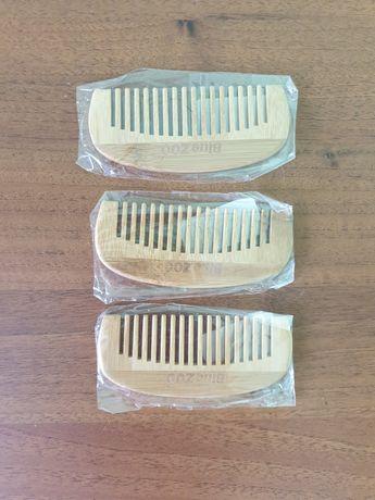 Бамбуковая расчёска, деревянная расчёска