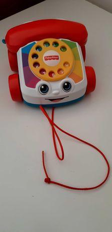 Brinquedo em forma de telefone para bebé (como novo)