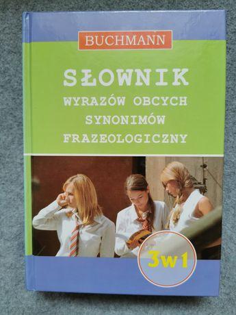Słownik wyrazów obcych, synonimów frazeologiczny Buchmann 3w 1 prezent