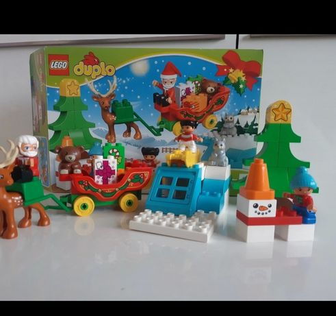 Lego duplo 10837 zimowe ferie