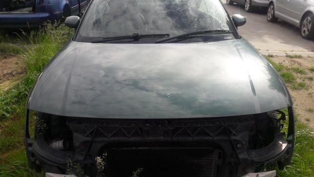 Maska przód pokrywa silnika Audi TT 8N ładna zielona części