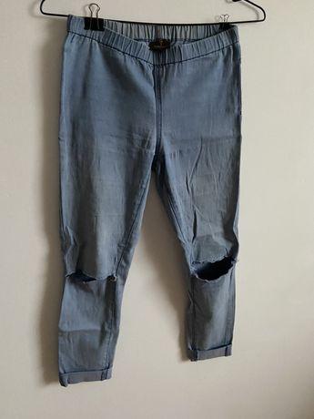 Spodnie z dziurami na kolana