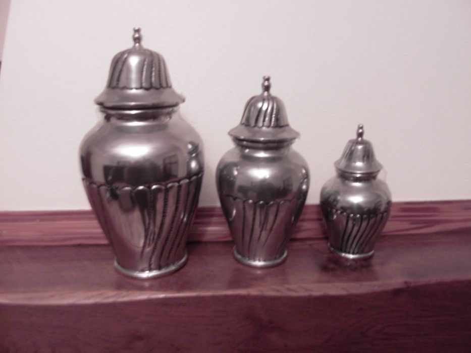 conjunto de potes de decoração Lousado - imagem 1