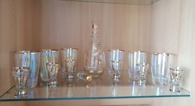 Karafka/6 szklanek/6 kieliszków