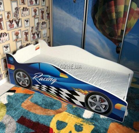 Кровать машина для детей. Ліжко-машина. Бесплатная доставка.