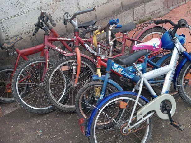 Zestaw rowerów dziecięcych