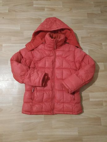 Теплая зимняя куртка пуховик для мальчика