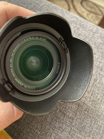 Обьектив Canon EF-M 15-45mm f/3.5-6.3 IS STM + защитный фильр + бленда