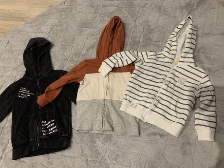 Bluza chłopięca z kapturem H&M i Reserved 92