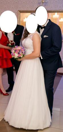 Suknia ślubna - kształt litery A