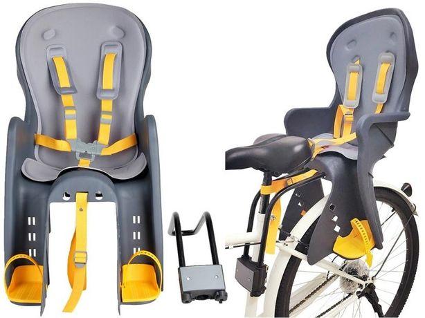 Fotelik rowerowy dla dziecka / Obciążenie do 22 kg. / NOWY !!!