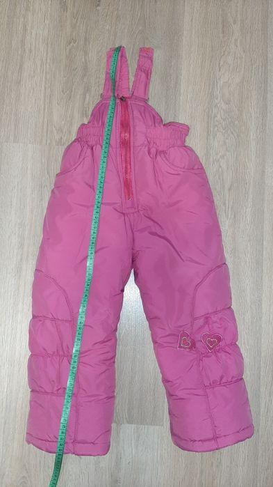 Зимний комбинезон для девочки. Размер 92 см. Днепр - изображение 1