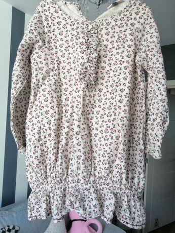 Śliczna koszula /tunika Pomp de Lux kwiatki w stylu Newbie