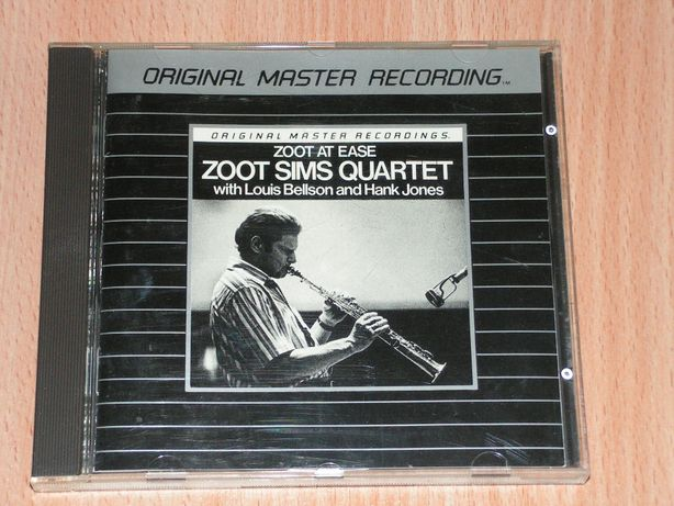 Zoot Sims Quartet - Zoot At Ease MFCD 842 Mobile Fidelity silver