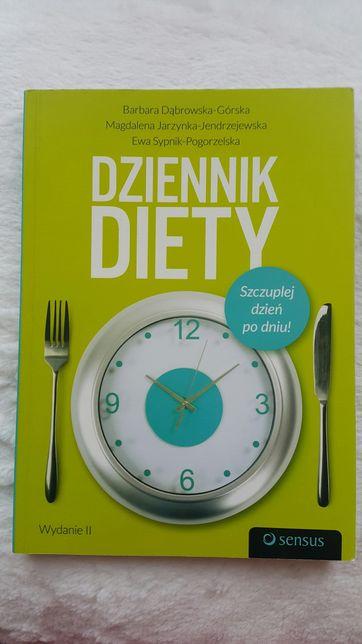 Dziennik diety fit dieta książka poradnik