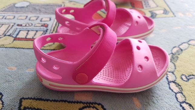 Сандали на девочку Crocs C8