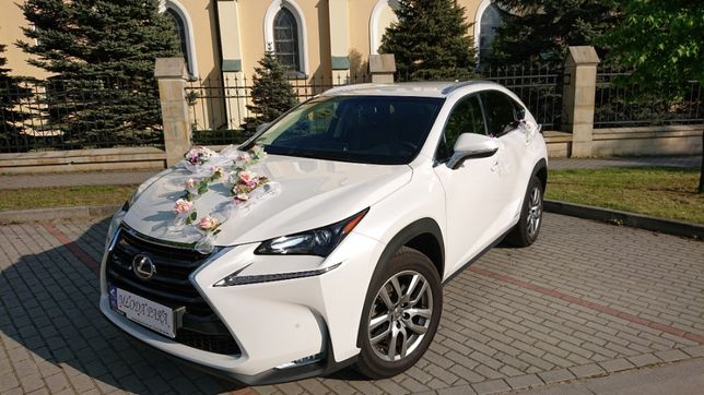 Auto do ślubu Lexus Nx300h Hybryda